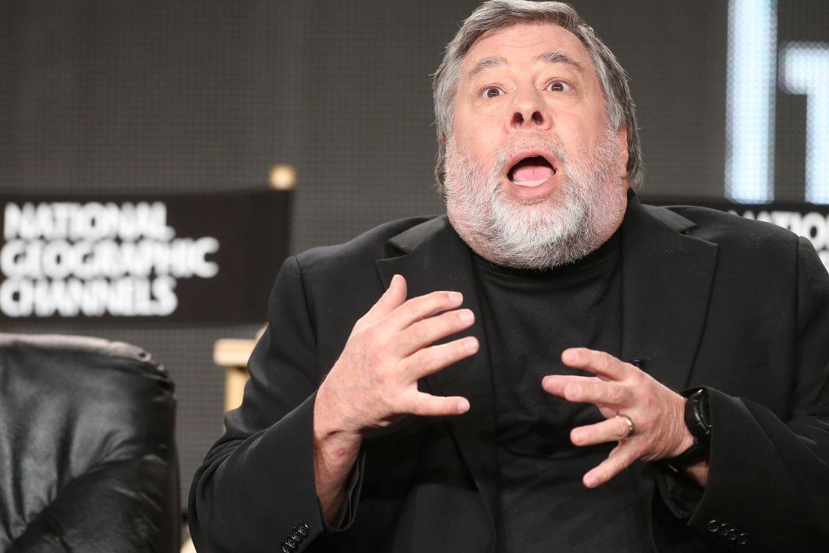 Apple cofounder Steve Wozniak.