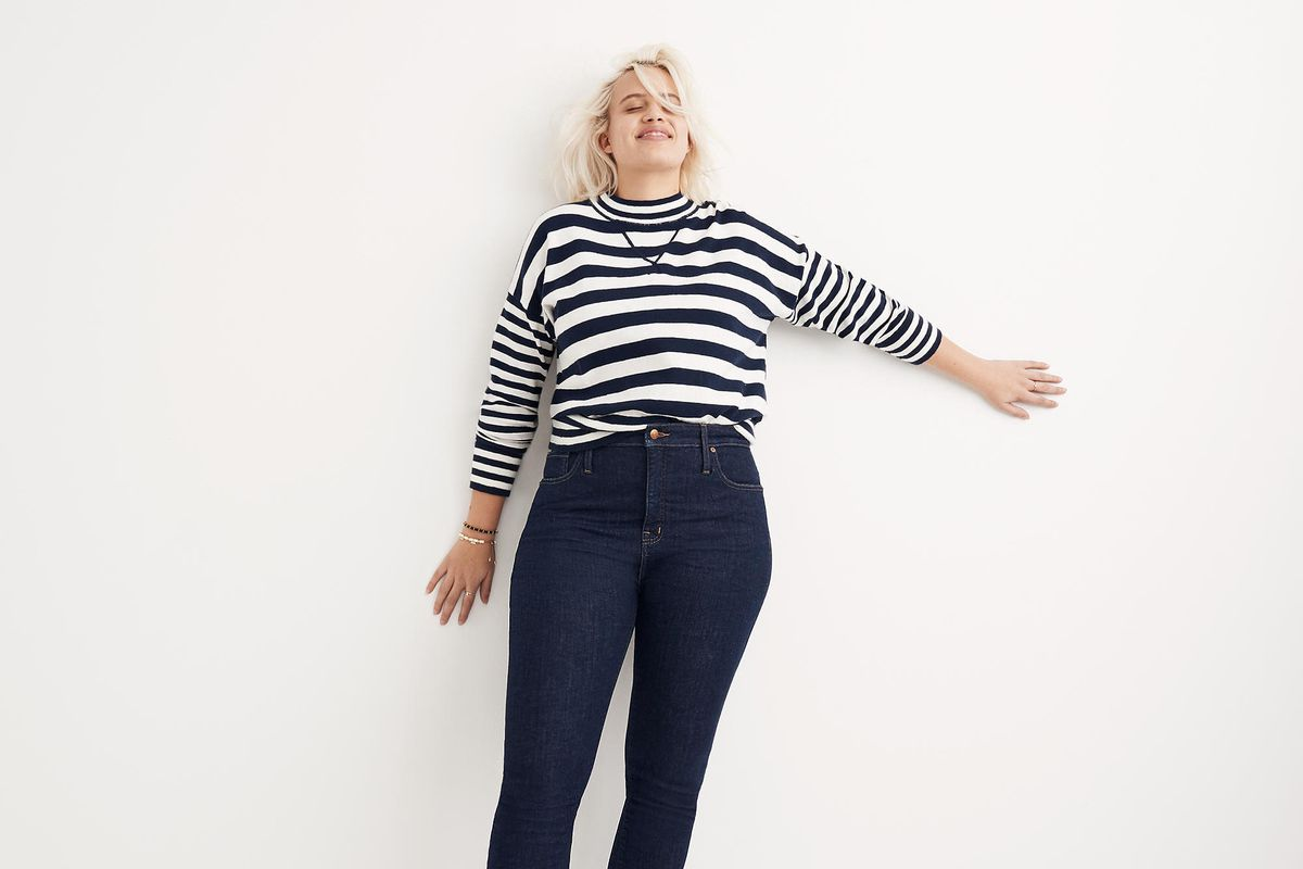 Madewell and j crew jeans now come in more sizes racked