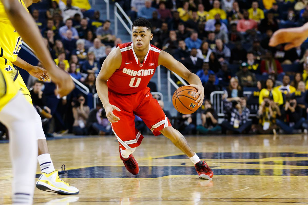 Earlier today D'Angelo Russell was named a Sports Illustrated College Basketball First Team All American