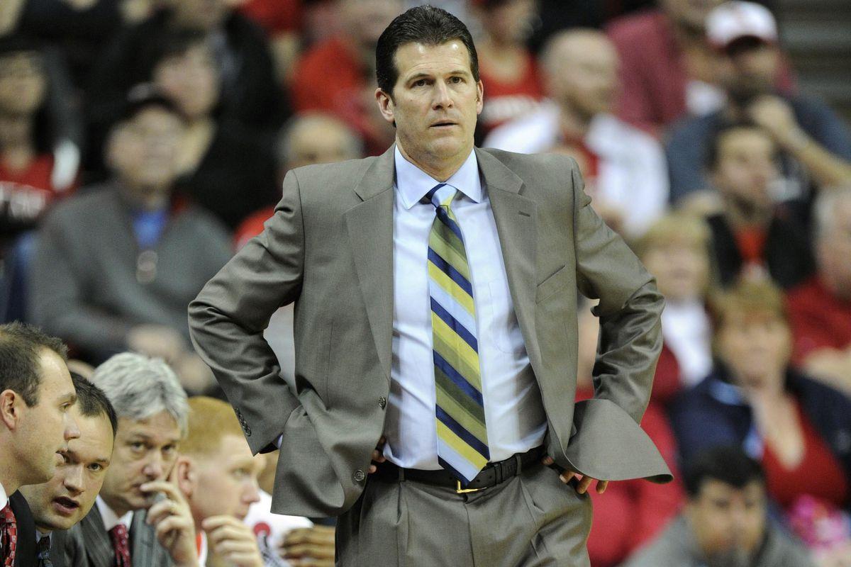 New UCLA coach, Steve Alford.