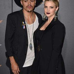 Evan Ross and Ashlee Simpson.