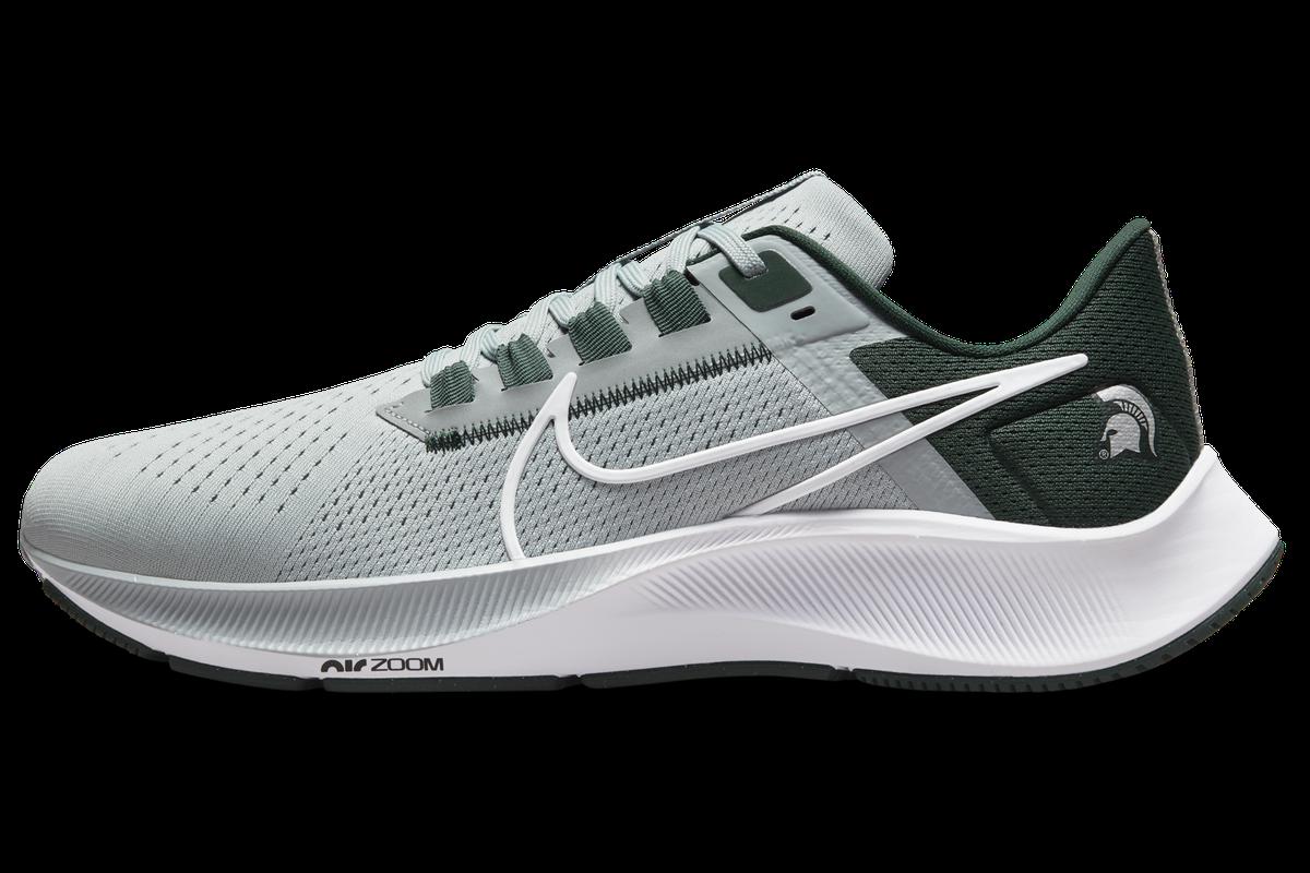 Nike's 2021 Air Zoom Pegasus 38 Michigan State Spartans shoe ...