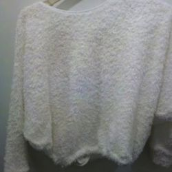 A fuzzy L'Agence…um, is it a sweatshirt? for $250, less markdowns.