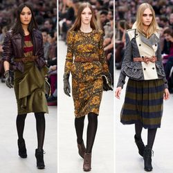 The haute tailoring of Burberry Prorsum-Fall 2012