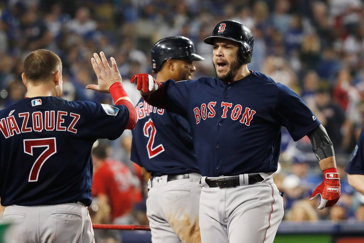new concept c6f97 19532 Red Sox World Series 2018: Steve Pearce wins World Series ...