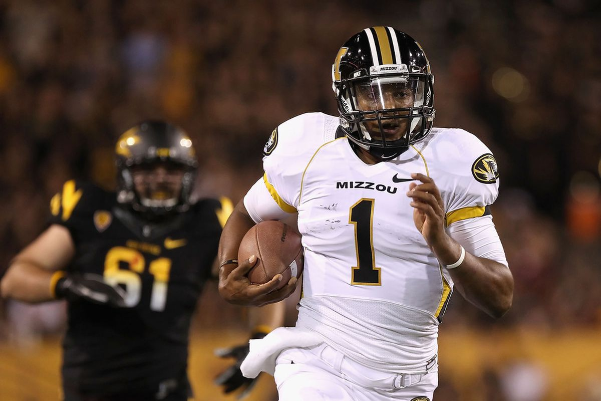 If the Mizzou offensive line can put forth a quality effort, it should be able to open up holes for James Franklin, Kendial Lawrence, Marcus Murphy and company. And if it can't ... well ... yikes.