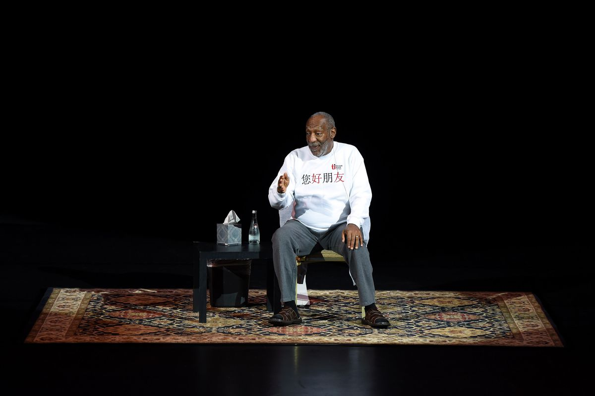 Comedian/actor Bill Cosby performs at the Treasure Island Hotel & Casino on September 26, 2014, in Las Vegas, Nevada.