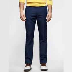 """For the guys, the golf pants from <strong>Bonobos</strong> called the Highland Pant, <a href=""""http://www.bonobos.com/navy-golf-pants-for-men"""">$108</a>, is perfectly tailored for work wear but the material makes these pants suitable for sports and for ligh"""