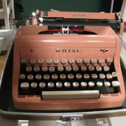 A refurbished typewriter from Brady & Kowalski