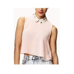 """Bejeweled Georgette Crop Top, $19.80 at <a href=""""http://www.forever21.com/Product/Product.aspx?BR=f21&Category=top_crop-tops&ProductID=2042763926&VariantID="""">Forever 21</a>"""