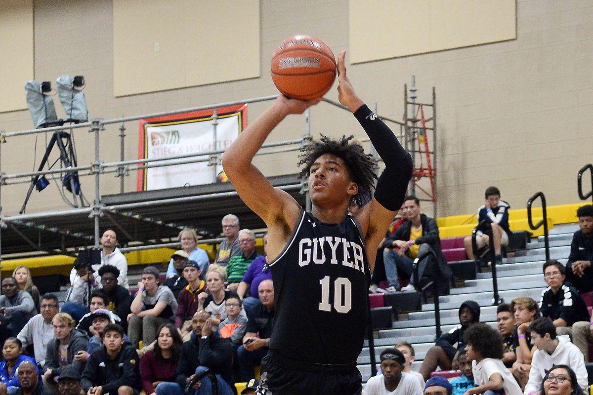 High School Basketball: Hoophall West Tournament-Hillcrest Prep vs Denton Guyer