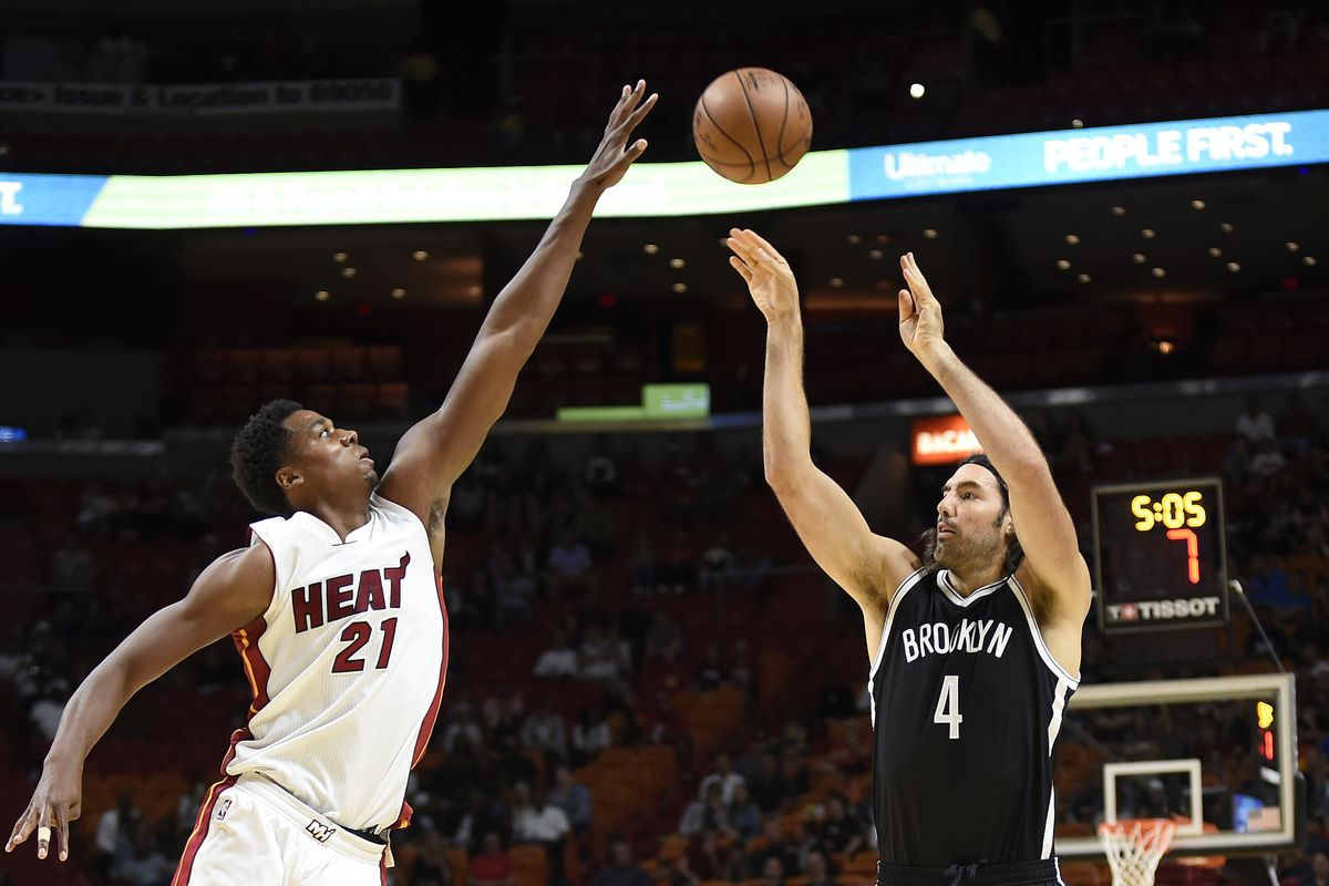 NBA: Preseason-Brooklyn Nets at Miami Heat