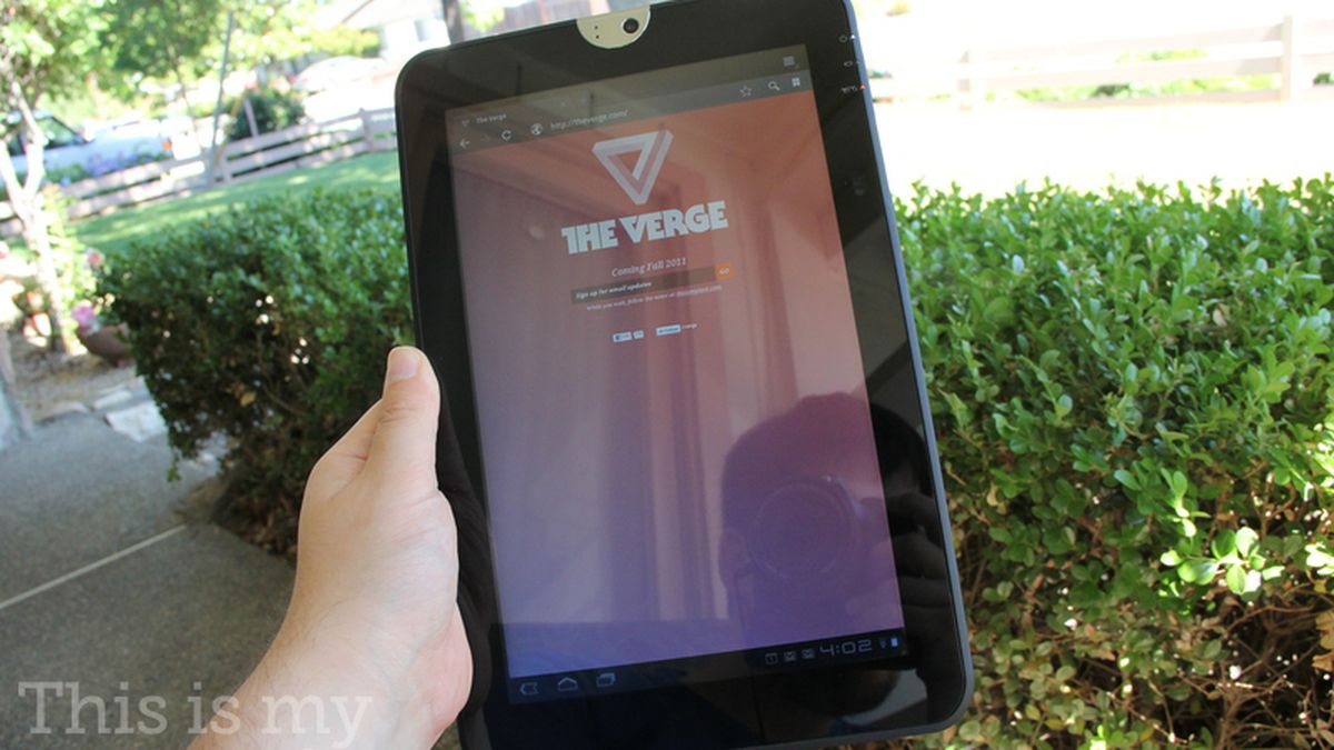Toshiba Thrive review - The Verge