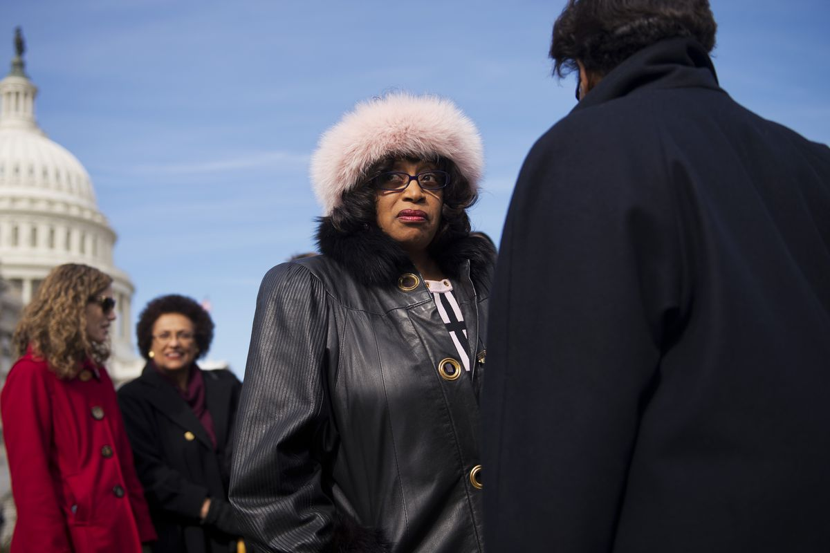 Rep. Corrine Brown (D-FL), whose district is at issue in a Florida court case.