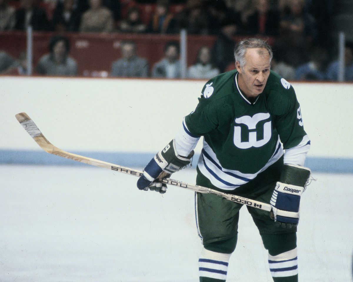 Hartford Whalers v Montreal Canadiens
