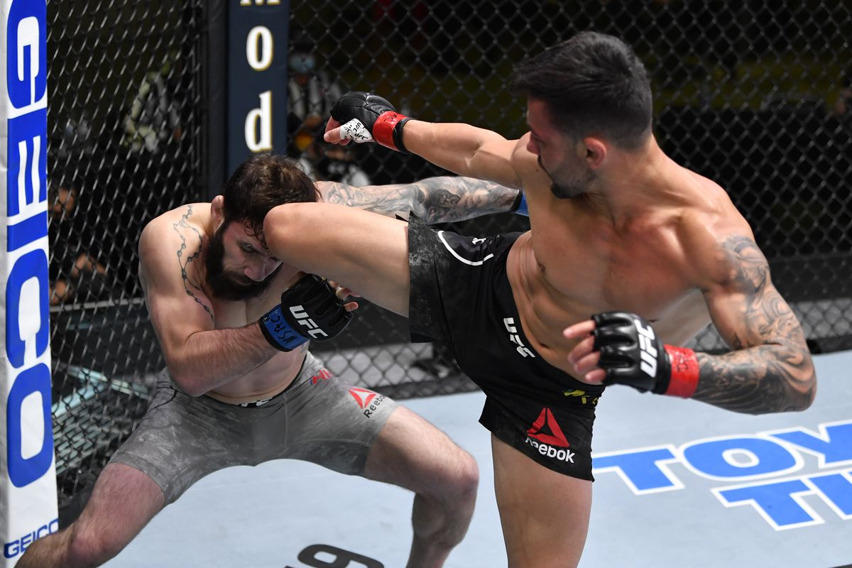 UFC Vegas 20 results: Pedro Munhoz earns his revenge, destroys Jimmie Rivera's calf - MMAmania.com
