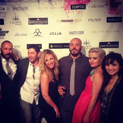 Epic evening at <b>The Makeup Show</b> with the beauty industry's finest. Work Hard, play hard, and be happy.