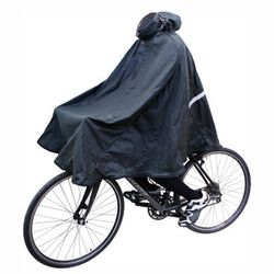 """<b>For the bike commuter dad:</b> Carradice's Duxback Poncho takes the groan out of rainy-day ride to work with reproofable waxed cotton, taped seams, and enough fabric to help keep his favorite suit dry. <a href=""""http://transportcycle.com/collections/acc"""