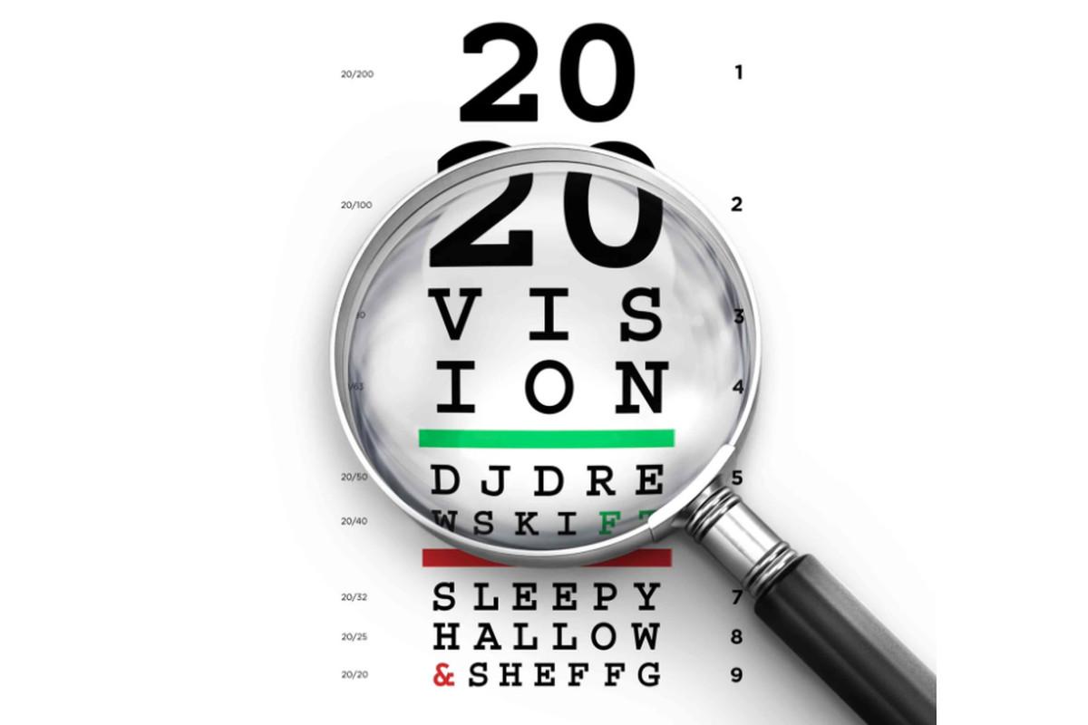 "DJ Drewski's ""2020 Vision"" artwork"