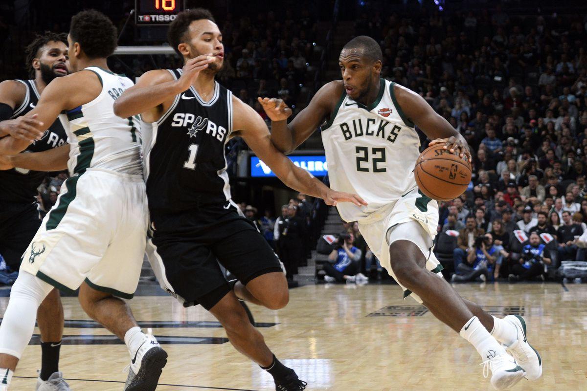 Rapid Recap Bucks 94 Spurs 87 Brew Hoop