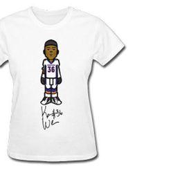 "Player: Kayvon Webster. Super Bowl Affiliation: Denver Broncos. Florida Loyalties: University of South Florida/Miami Native. Gameday Gear: Women's Standard Weight T-Shirt,<a href=""http://kayvonwebster.spreadshirt.com/kayvon-A14386426/customize/color/386"""