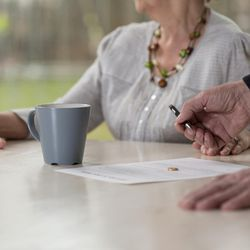 """The number of """"gray divorces"""" continues to rise. As longtime marriages break up, there may be a new financial tool on the horizon, according to Forbes. It's called a """"divorce mortgage,"""" and here's how it works."""