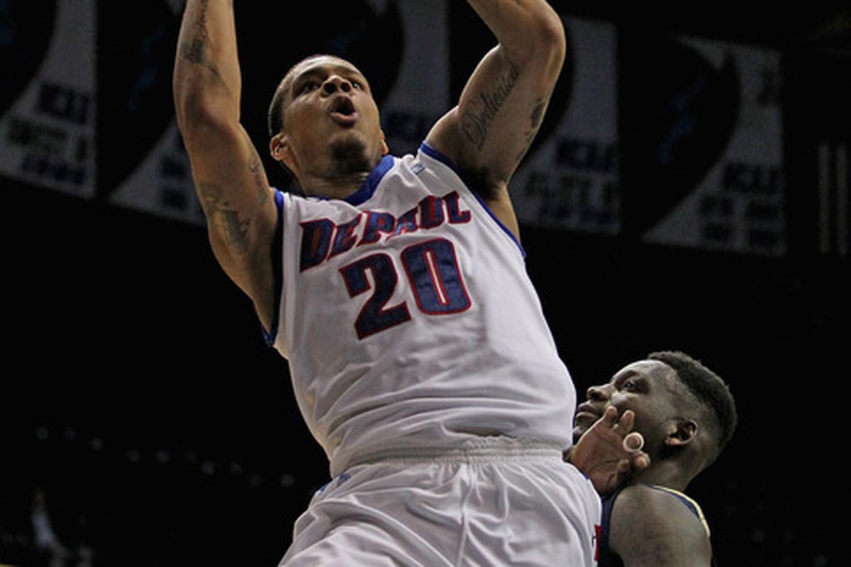 Brandon Young led DePaul to a win over Pittsburgh. If St. John's isn't careful, he could lead the Blue Demons to their third conference win tonight.