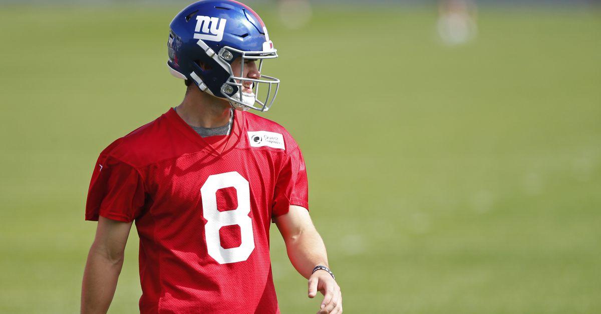 """Giants news, 5/24: Golden Tate lauds Daniel Jones' """"super, super strong arm"""""""