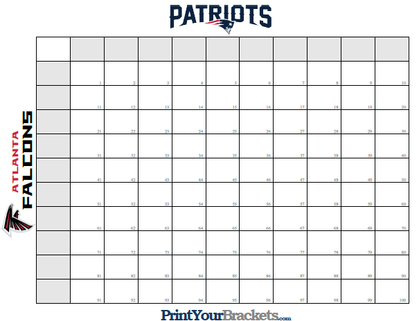 In this Storystream. Super Bowl squares ...