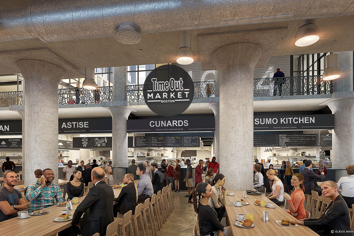 Time Out Market Boston Announces More of Its Chef Lineup - Eater Boston