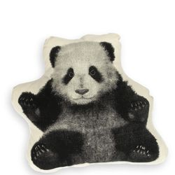 """Areaware panda pillow, $35 at <a href=""""http://www.amazon.com/AREAW-SFMPPA-Areaware-Panda-Pillow/dp/B00642NY5Q"""">Amazon</a> ."""