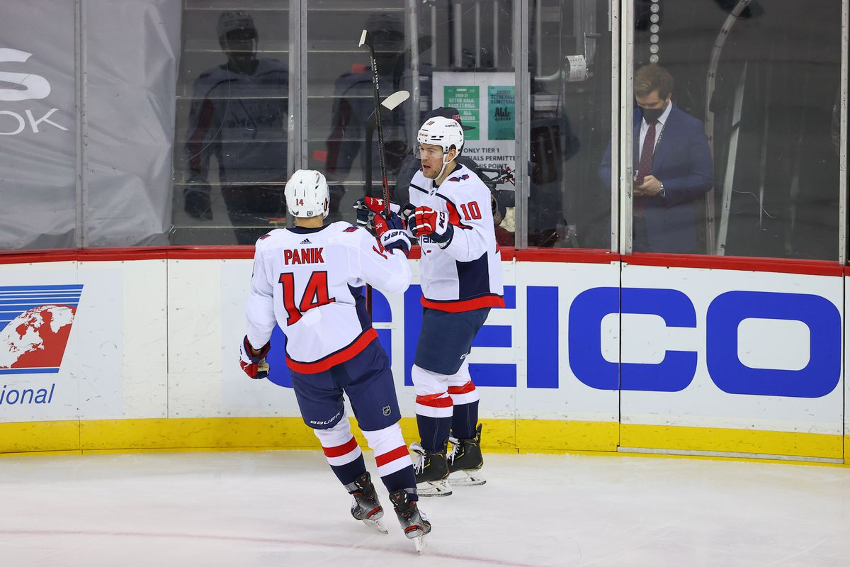 NHL: FEB 27 Capitals at Devils