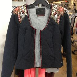 Embroidered Jacket, $100