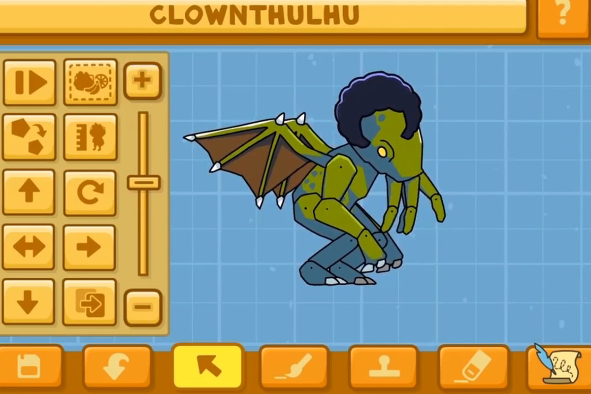 Scribblenauts Unlimited' trailer gives Cthulhu a makeover