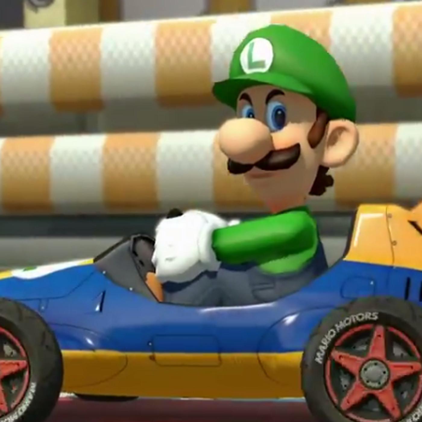 Nintendo Has Officially Adopted The Luigi Death Stare Polygon