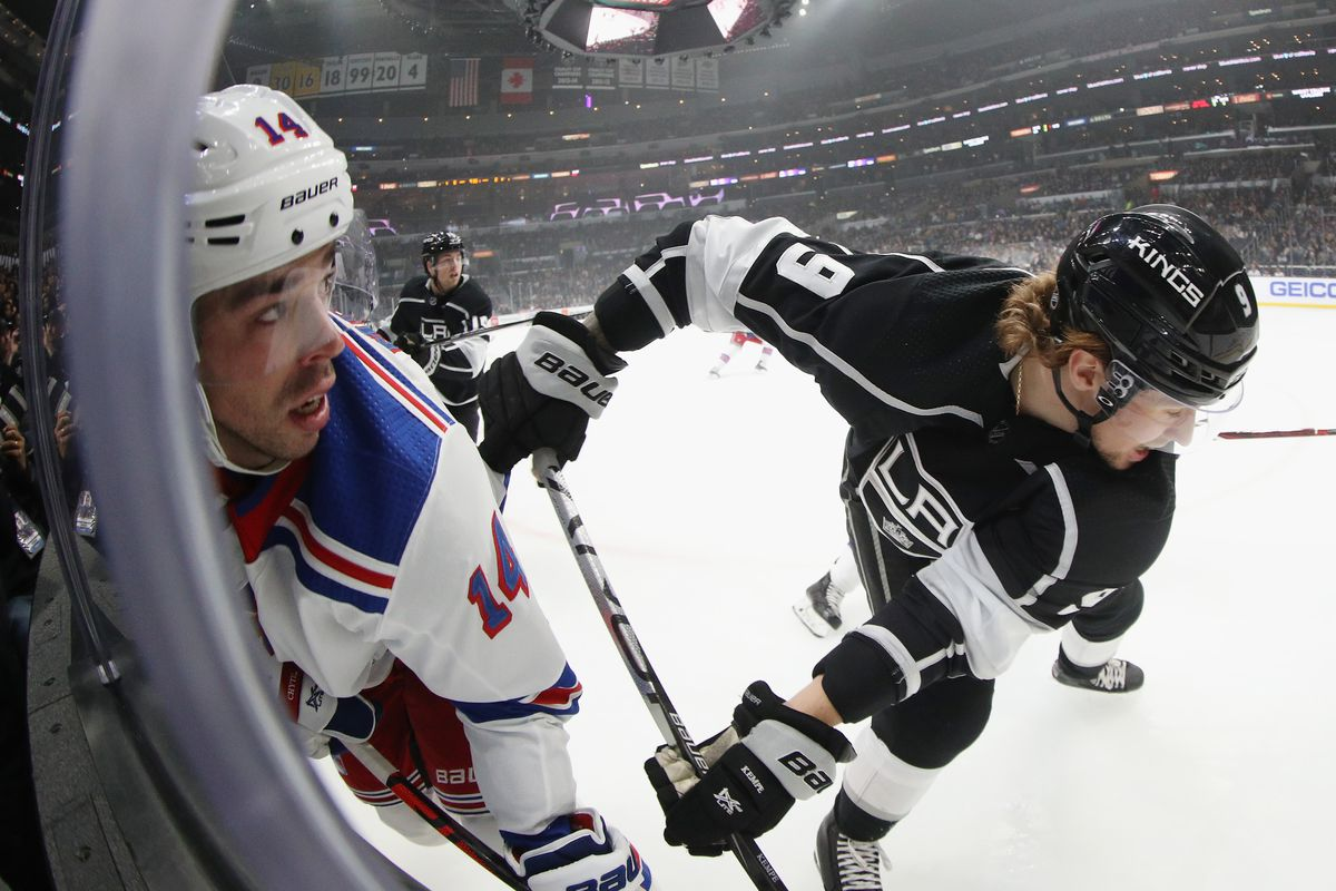 Rangers vs Kings: Offense Comes Up Empty in Los Angeles