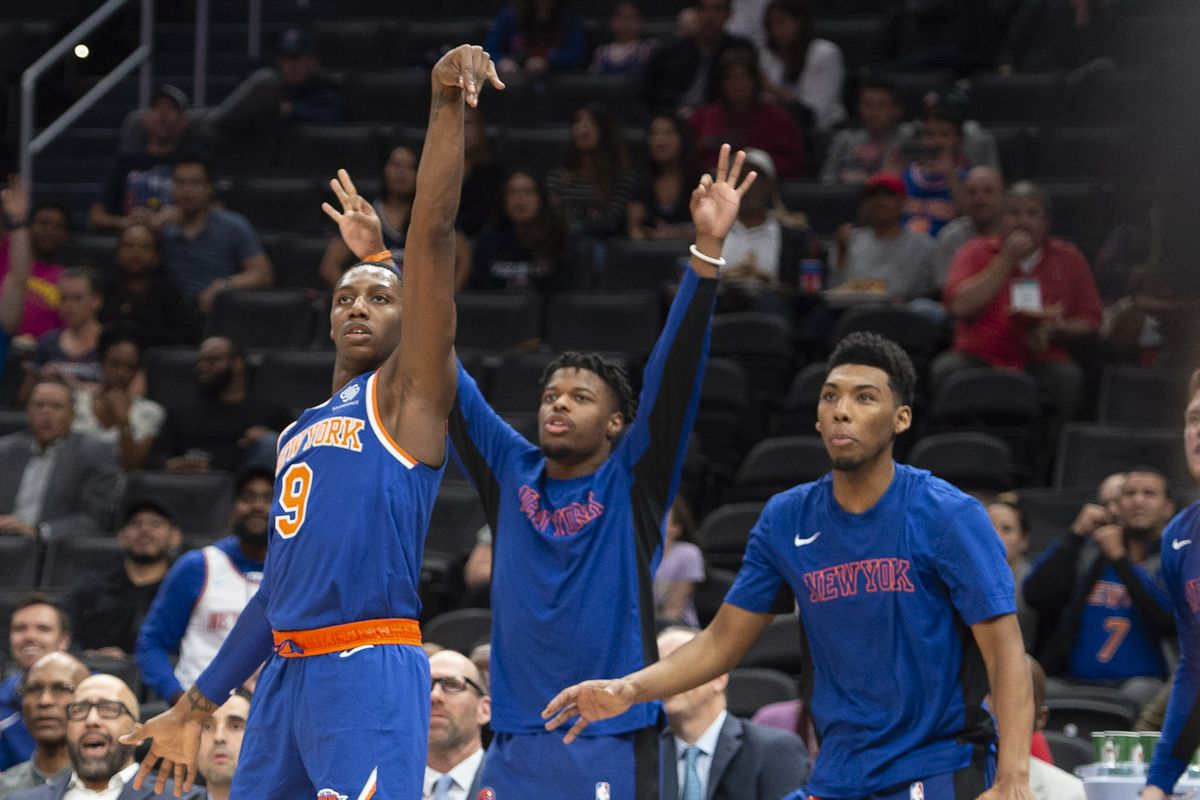 Knicks 104, Wizards 99: Scenes from a pre-season thump off
