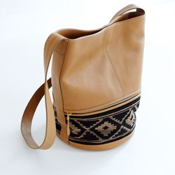 Hare + Hart Pampa bucket bag, $188 (from $395)