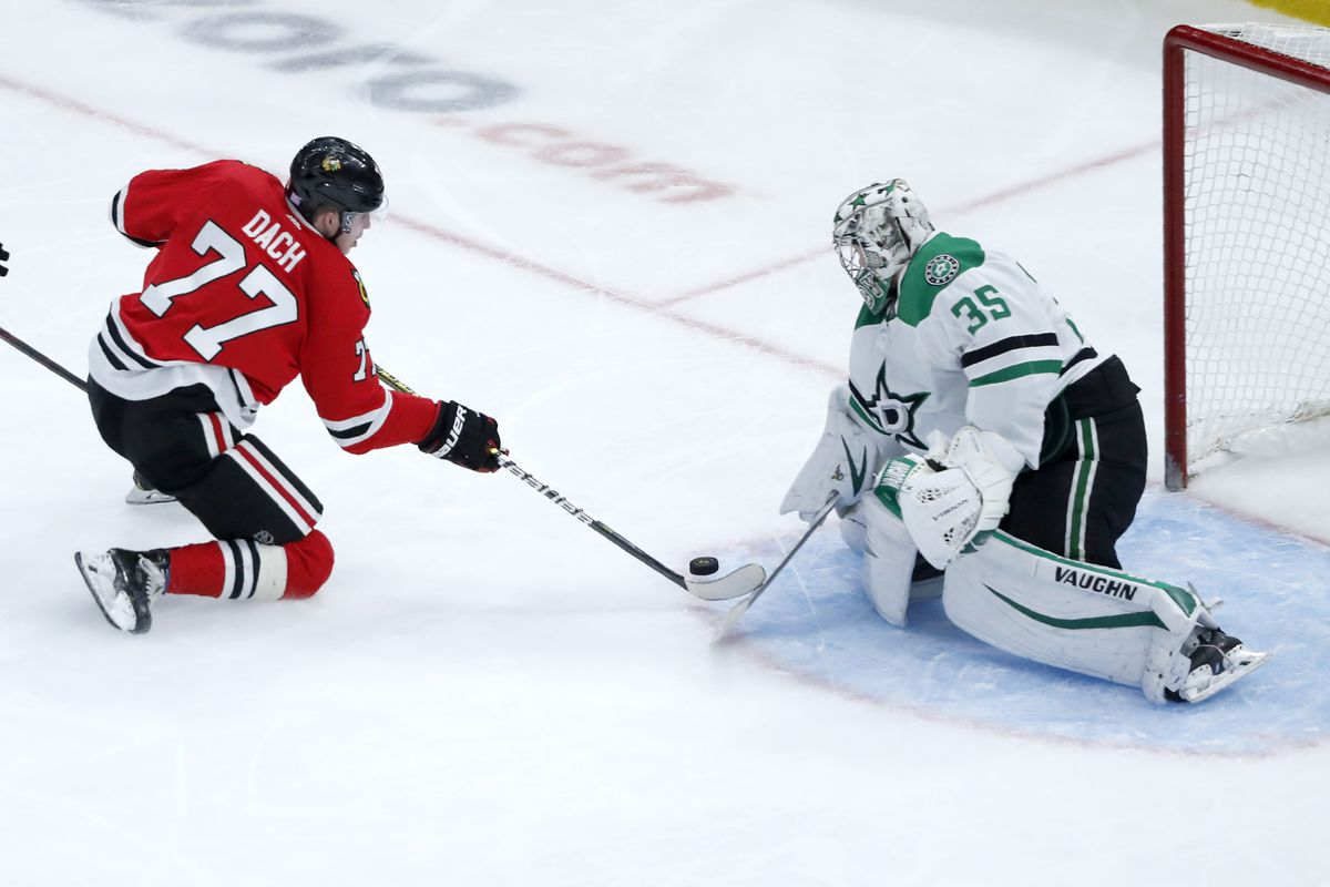 Blackhawks' Kirby Dach hopes to generate more chances on 2nd line