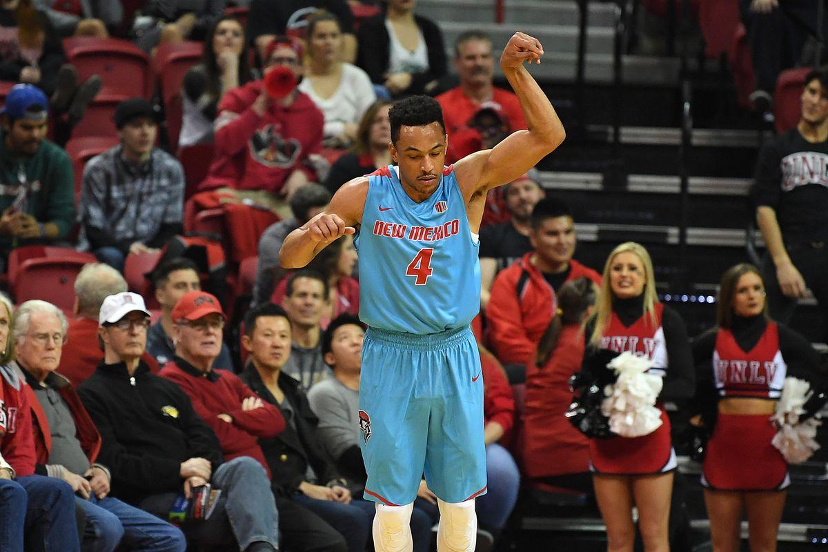 NCAA Basketball: New Mexico at UNLV