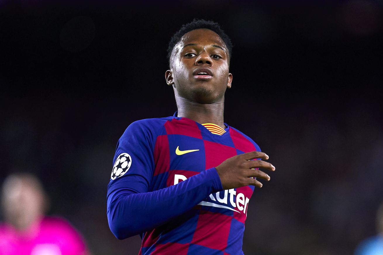 Ansu Fati says he wants to ?spend my whole life? at Barcelona