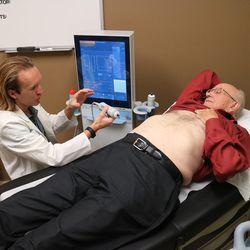 Wayne Eskridge, of Boise, Idaho, has been diagnosed with nonalcoholic fatty liver disease.