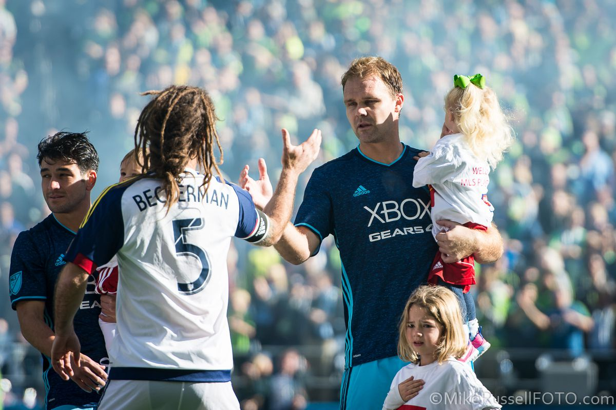 Chad Marshall's decision to retire was sudden, but not taken lightly