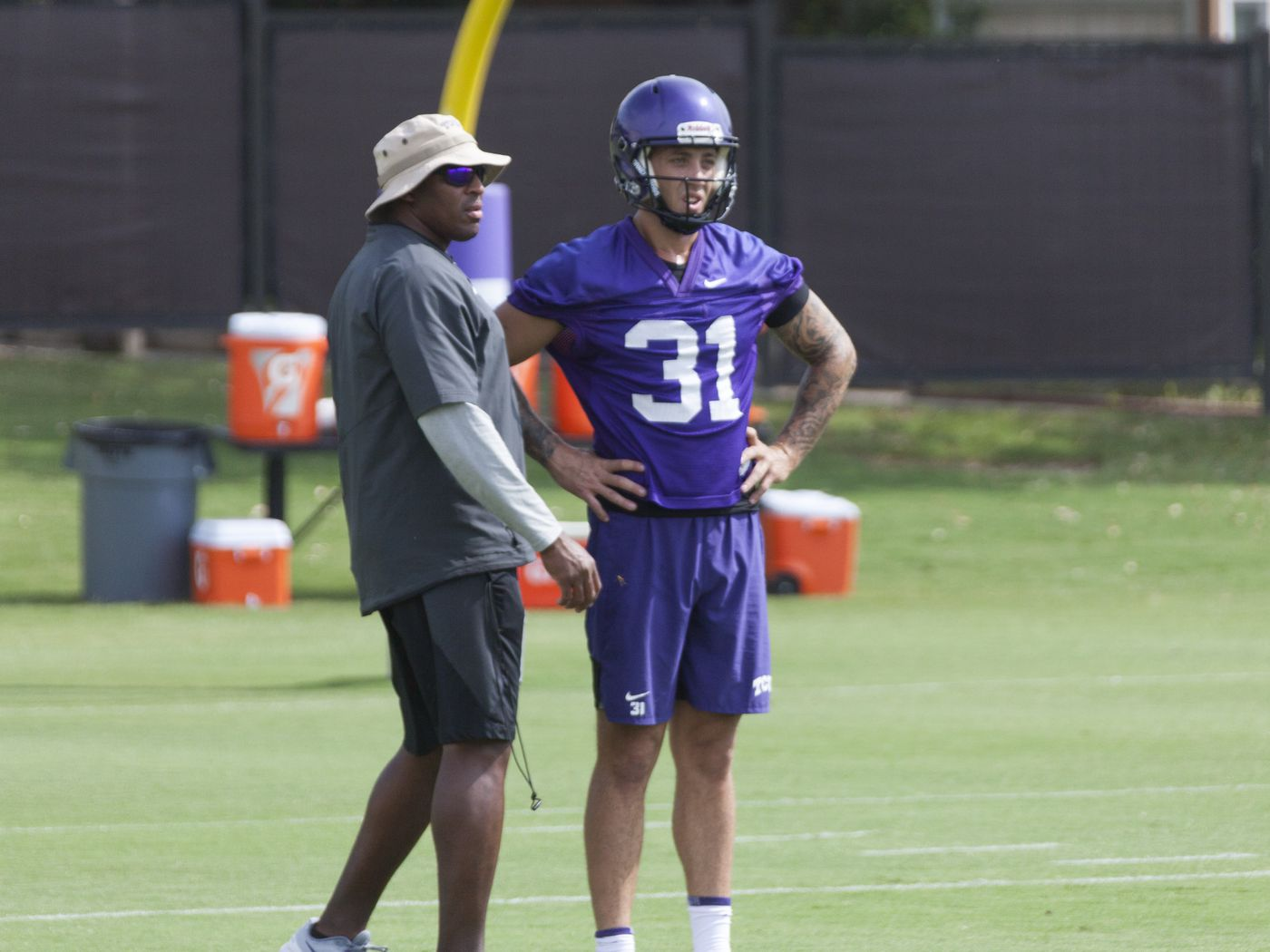 Quick Thoughts after scrimmage #1 for TCU Football - Frogs O' War