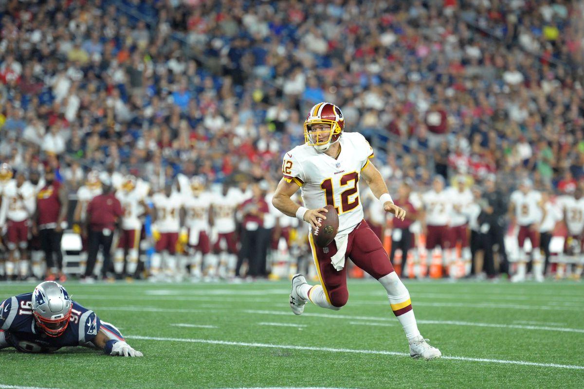 NFL: Washington Redskins at New England Patriots