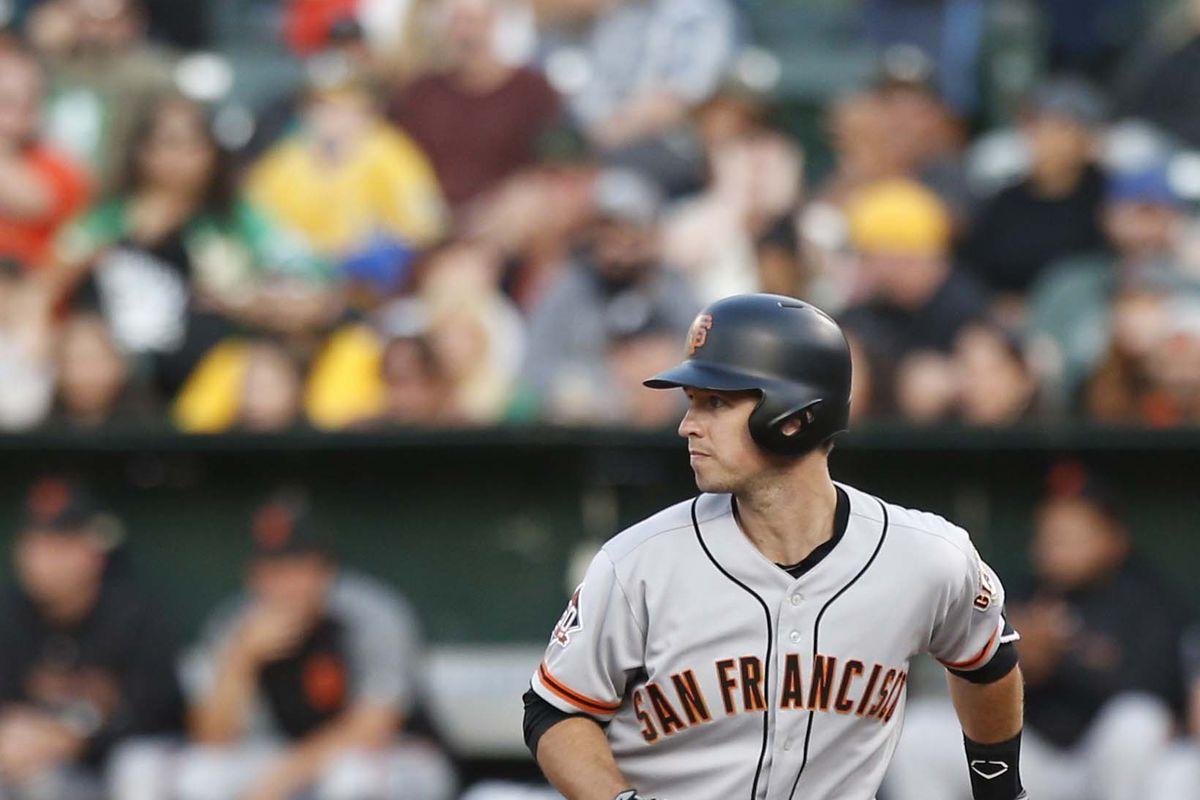 MLB: San Francisco Giants at Oakland Athletics