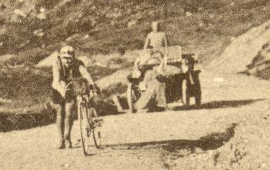 Octave Lapize on Tourmalet