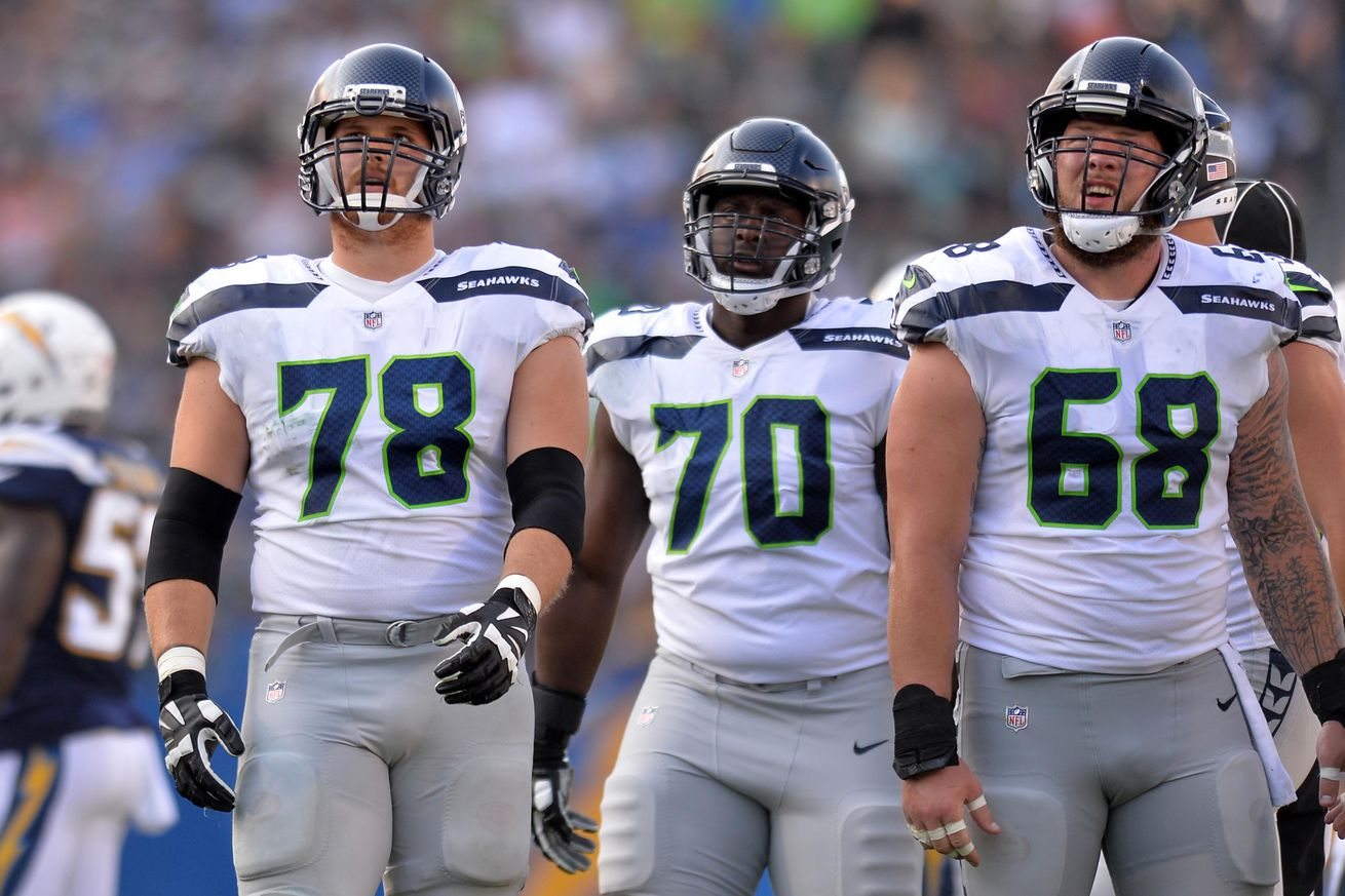 Inside the Film: Grading the Seahawks starting offensive line vs the Chargers