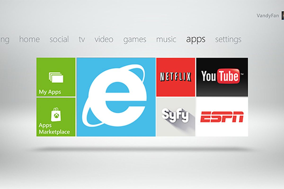 Configure Internet Explorer on Xbox 360 to use mobile device versions of webpages