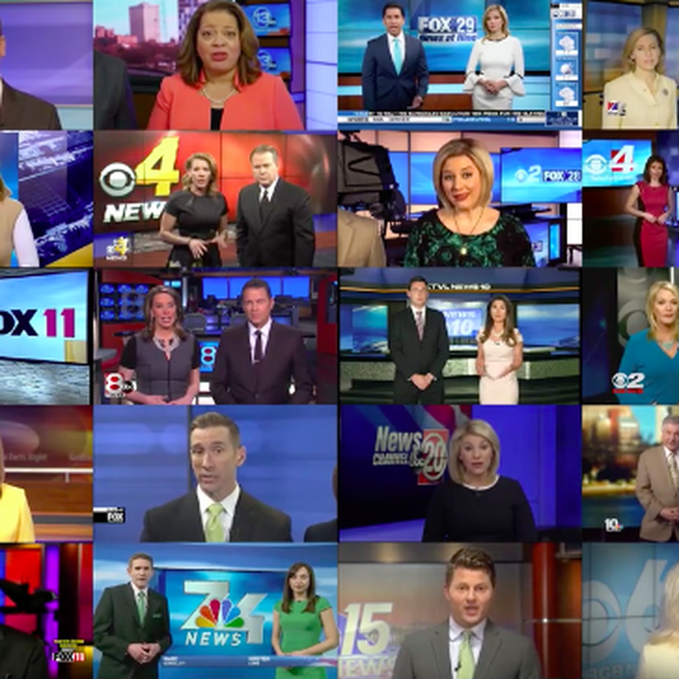 Watch: dozens of Sinclair local TV anchors read the same